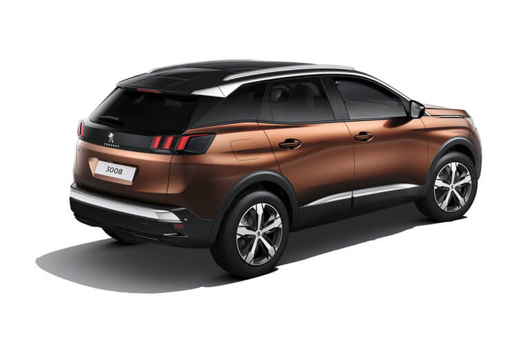 Peugeot 3008 SUV 1.2 PureTech 130PS Active Premium 5Dr Manual [Start Stop] back view