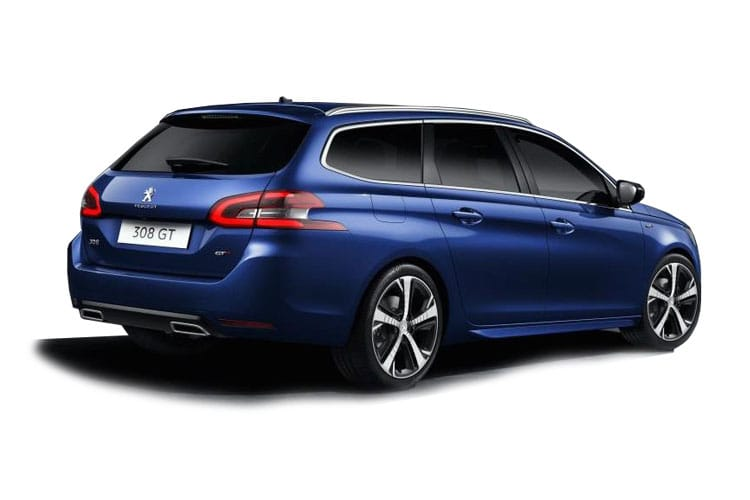 Peugeot 308 SW 5Dr 1.5 BlueHDi 130PS Tech Edition 5Dr Manual [Start Stop] back view