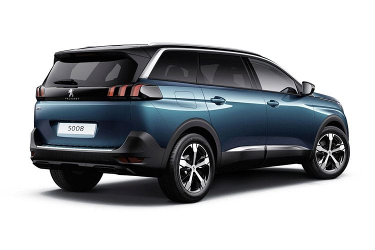 Peugeot 5008 SUV 1.2 PureTech 130PS Allure 5Dr Manual [Start Stop] back view