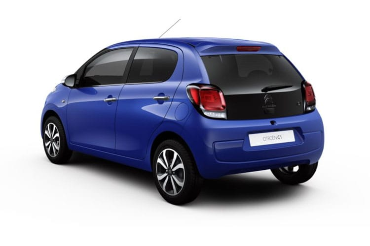 Citroen C1 Airscape 5Dr 1.0 VTi 72PS Feel 5Dr Manual [Start Stop] back view