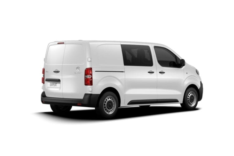 Peugeot Expert Standard 1200Kg 2.0 BlueHDi FWD 180PS Asphalt Crew Van EAT8 [Start Stop] back view