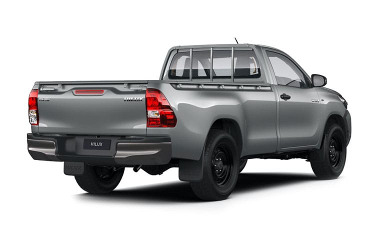 Toyota Hilux PickUp Double Cab 4wd 2.4 D-4D 4WD 150PS Icon Pickup Double Cab Manual [Start Stop] back view