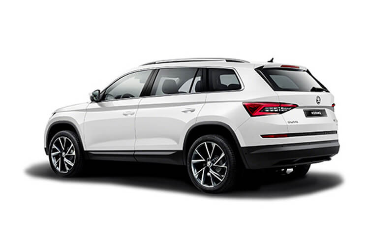 Skoda Kodiaq SUV 4wd 2.0 TDi 150PS SE 5Dr DSG [Start Stop] [7Seat] back view