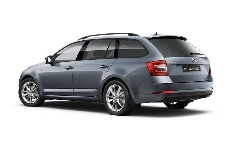Skoda Octavia Estate 1.4 TSI iV PiH 13kWh 245PS vRS 5Dr DSG [Start Stop] back view