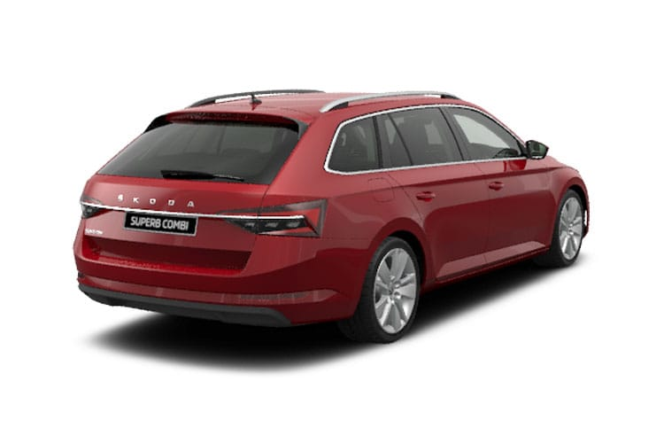 Skoda Superb Estate 2.0 TDi 190PS Laurin & Klement 5Dr DSG [Start Stop] back view