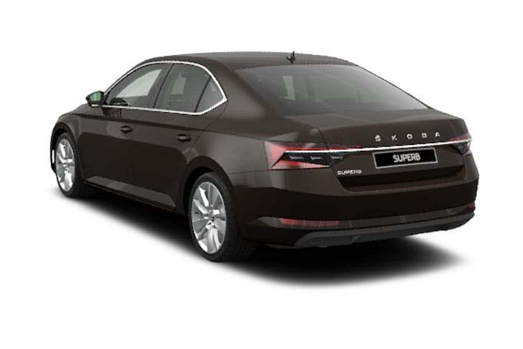 Skoda Superb Hatch 5Dr 4x4 2.0 TSi 272PS Laurin & Klement 5Dr DSG [Start Stop] back view