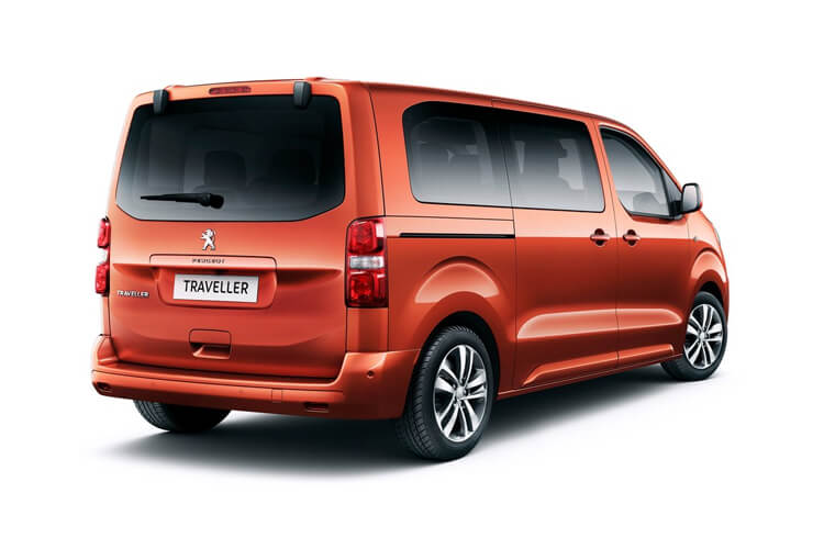 Peugeot Traveller Standard 5Dr 2.0 BlueHDi FWD 120PS Business MPV EAT [Start Stop] [8Seat] back view