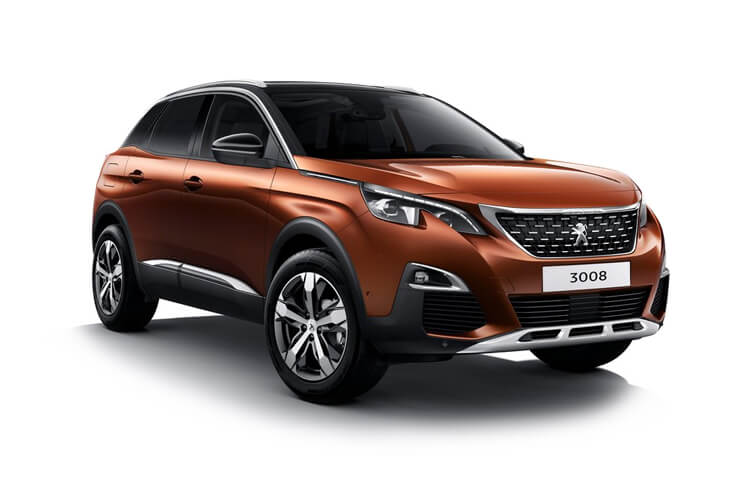 Peugeot 3008 SUV 1.2 PureTech 130PS Active Premium 5Dr Manual [Start Stop] front view