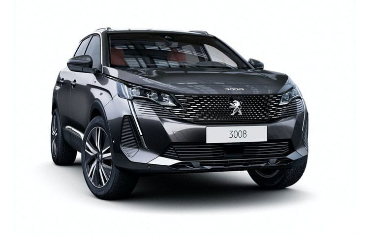 Peugeot 3008 SUV 1.5 BlueHDi 130PS Allure Premium 5Dr EAT8 [Start Stop] front view