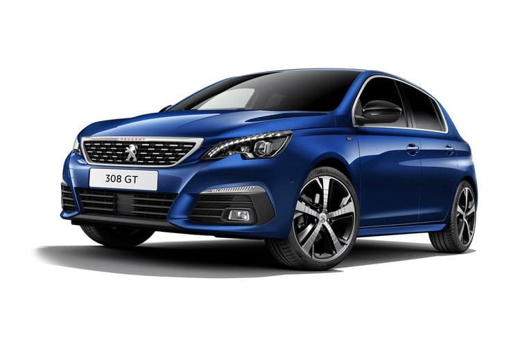 Peugeot 308 Hatch 5Dr 1.2 PureTech 130PS Tech Edition 5Dr EAT8 [Start Stop] front view