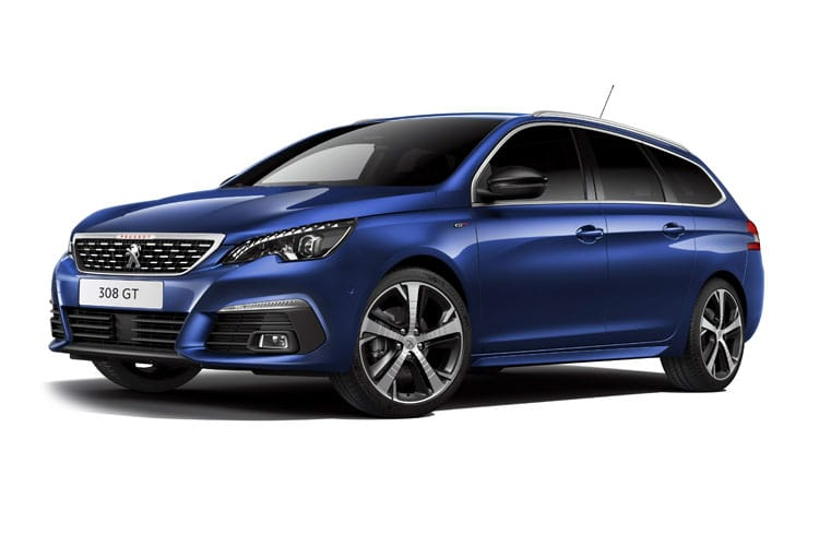 Peugeot 308 SW 5Dr 1.5 BlueHDi 130PS Tech Edition 5Dr Manual [Start Stop] front view