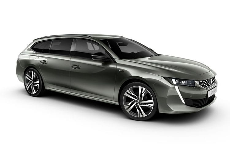 Peugeot 508 SW 5Dr HYBRID 1.6 PHEV 11.8kWh 225PS Allure 5Dr e-EAT [Start Stop] front view