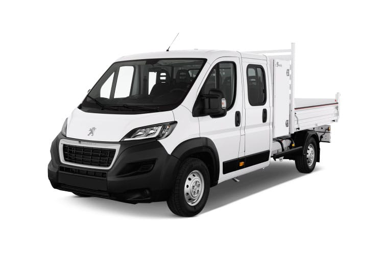 Peugeot Boxer 335 L2 2.2 BlueHDi FWD 165PS Built for Business Plus Tipper Manual [Start Stop] front view