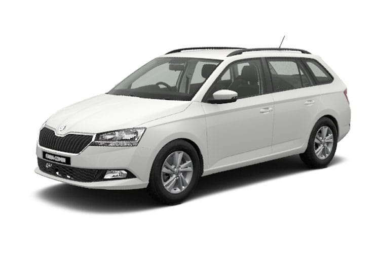 Skoda Fabia Estate 1.0 TSi 95PS Monte Carlo 5Dr Manual [Start Stop] front view
