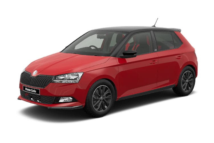 Skoda Fabia Hatch 5Dr 1.0 TSi 95PS SE Drive 5Dr DSG [Start Stop] front view