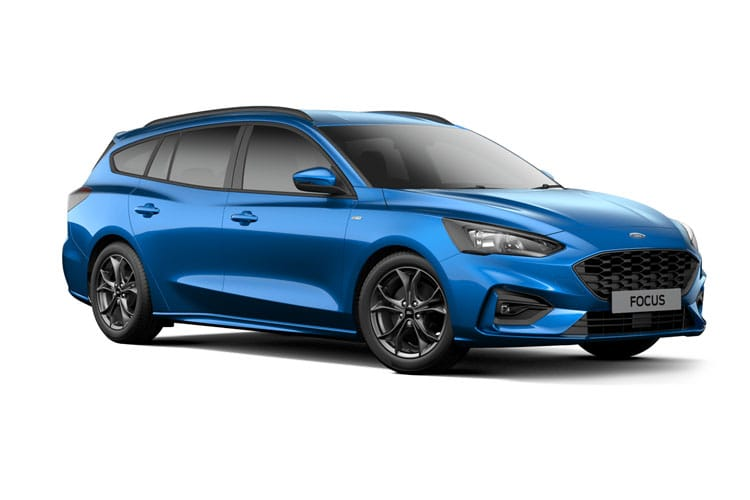 Ford Focus Estate 1.0 T EcoBoost 125PS Titanium X Edition 5Dr Auto [Start Stop] front view