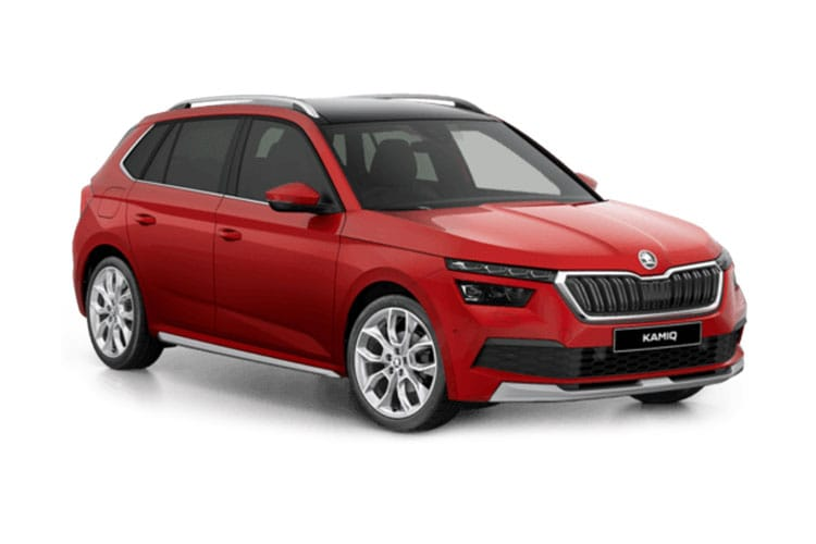 Skoda Kamiq SUV 1.0 TSi 110PS SE 5Dr Manual [Start Stop] front view