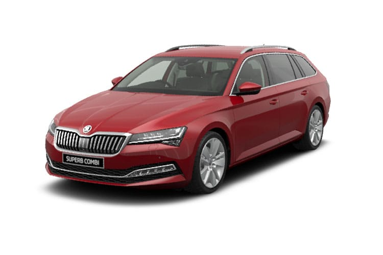Skoda Superb Estate 2.0 TDi 190PS Laurin & Klement 5Dr DSG [Start Stop] front view