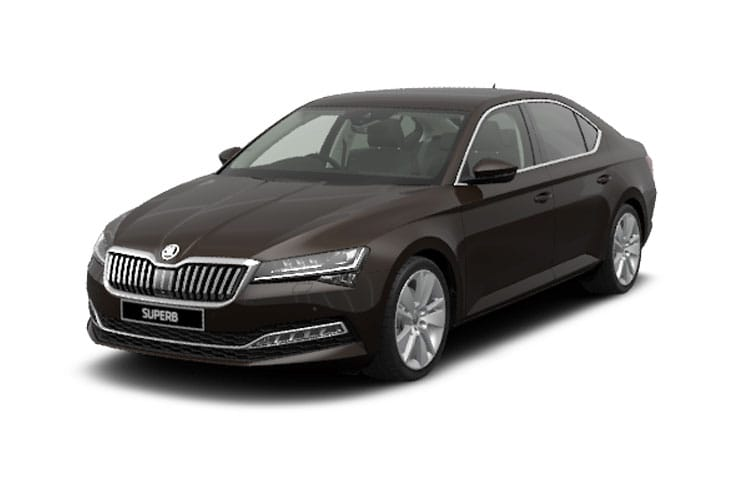 Skoda Superb Hatch 5Dr 4x4 2.0 TSi 272PS Laurin & Klement 5Dr DSG [Start Stop] front view