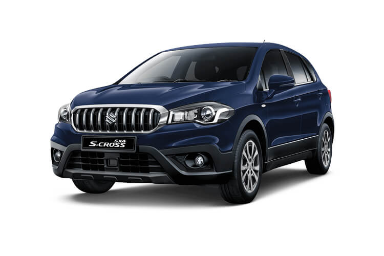 Suzuki S-Cross SUV 1.4 Boosterjet MHEV 129PS SZ5 5Dr Manual [Start Stop] front view
