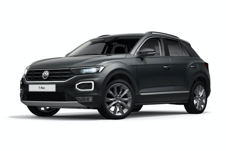 Volkswagen T-Roc SUV 2wd 1.5 TSI EVO 150PS R-Line 5Dr DSG [Start Stop] front view