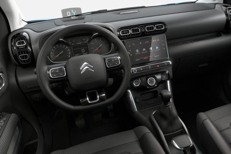 Citroen C3 Aircross SUV 1.2 PureTech 110PS Feel 5Dr Manual [Start Stop] inside view