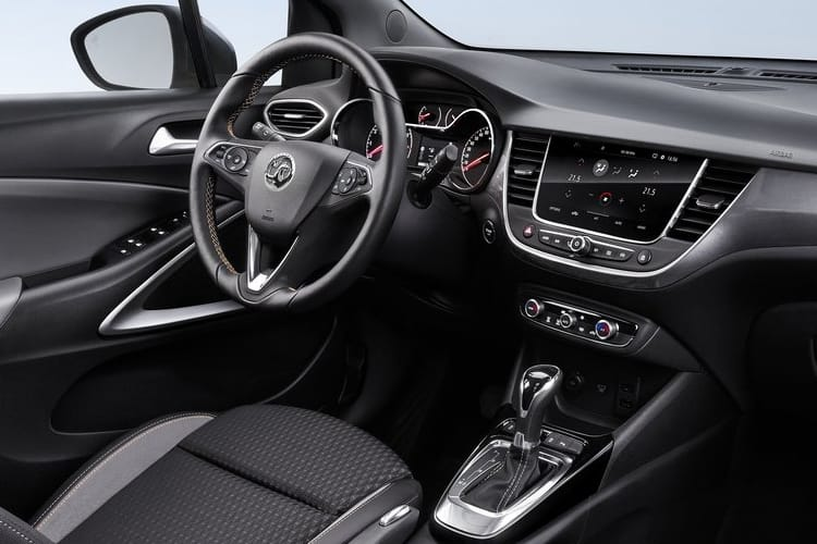 Vauxhall Crossland X SUV 1.2 Turbo ecoTEC 110PS Griffin 5Dr Manual [Start Stop] inside view