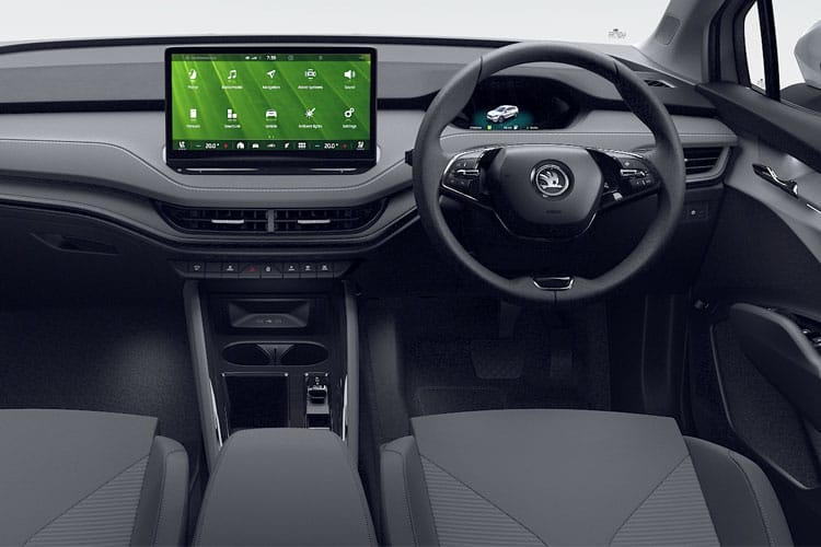 Skoda Enyaq iV 80 SUV Elec 82kWh 150KW 204PS  5Dr Auto [ecoSuite] inside view