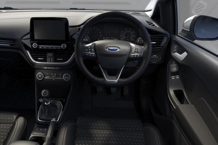 Ford Fiesta Hatch 3Dr 1.0 T EcoBoost 100PS ST-Line Edition 3Dr Auto [Start Stop] inside view