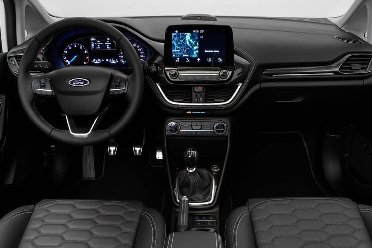 Ford Fiesta Hatch 5Dr 1.0 T EcoBoost 140PS Active X Edition 5Dr Manual [Start Stop] inside view