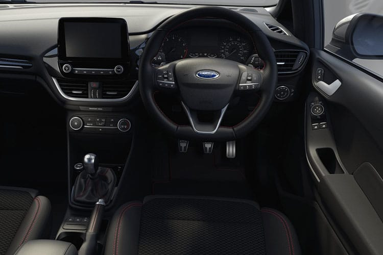 Ford Fiesta Hatch 5Dr 1.0 T EcoBoost MHEV 155PS Active Edition 5Dr Manual [Start Stop] inside view