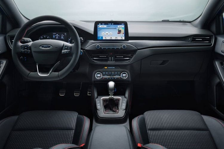 Ford Focus Estate 1.0 T EcoBoost 125PS Titanium X Edition 5Dr Auto [Start Stop] inside view