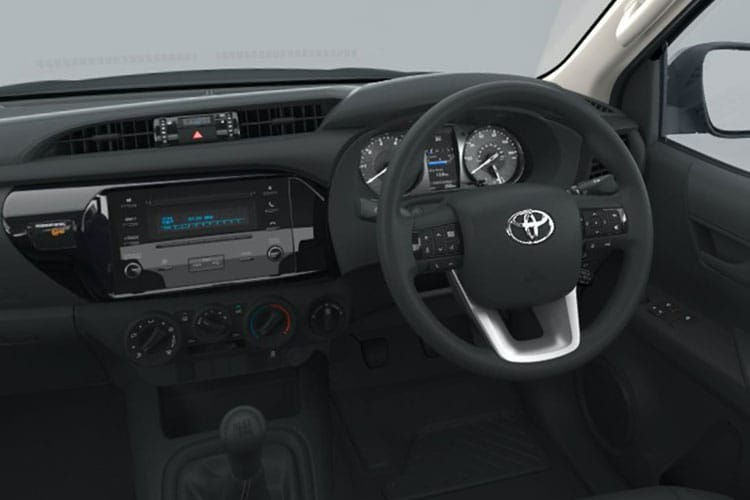 Toyota Hilux PickUp Double Cab 4wd 2.4 D-4D 4WD 150PS Icon Pickup Double Cab Manual [Start Stop] inside view
