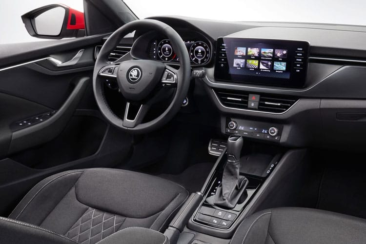 Skoda Kamiq SUV 1.0 TSi 110PS SE 5Dr Manual [Start Stop] inside view
