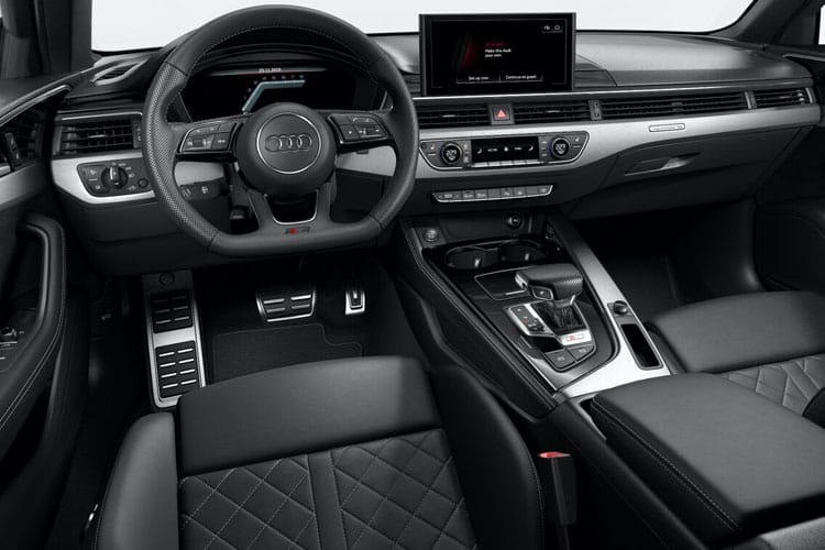 Audi A4 35 Saloon 4Dr 2.0 TDI 163PS Black Edition 4Dr S Tronic [Start Stop] inside view