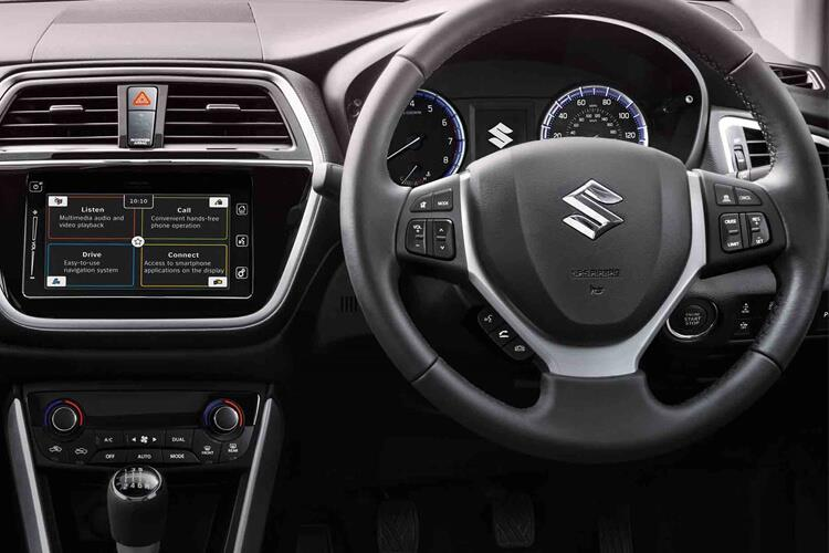 Suzuki S-Cross SUV 1.4 Boosterjet MHEV 129PS SZ5 5Dr Manual [Start Stop] inside view