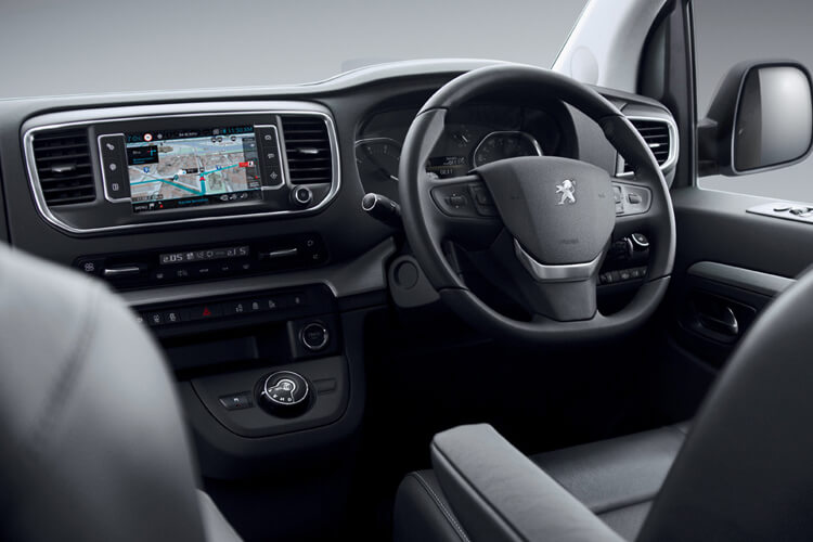 Peugeot Traveller Standard 5Dr 2.0 BlueHDi FWD 120PS Business MPV EAT [Start Stop] [8Seat] inside view