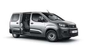 Peugeot Partner Crew Van Long 850Kg 1.5 BlueHDi FWD 100PS Professional Crew Van Manual
